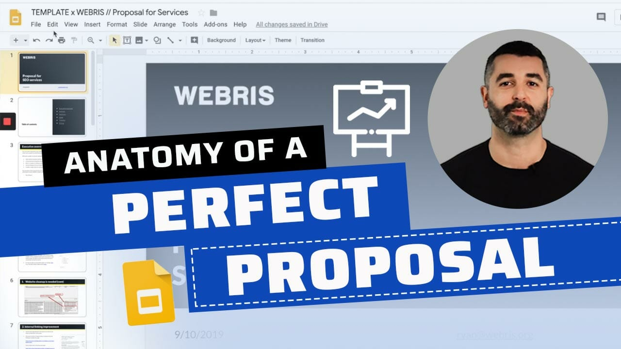 perfect seo proposal process